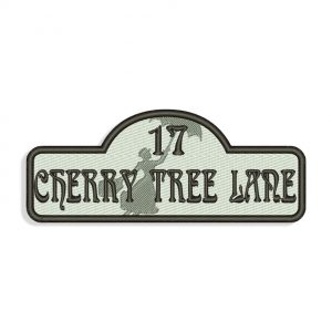 Cherry Tree Lane Embroidery design