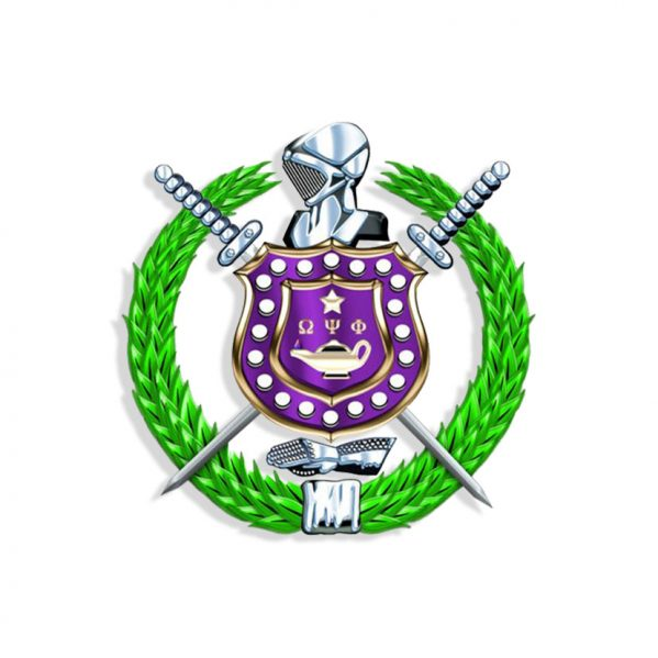 Omega Psi Phi Shield PNG