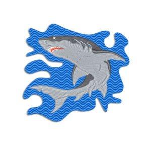 Shark Embroidery