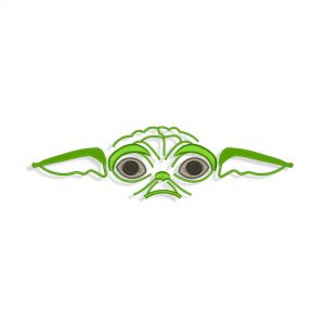 Baby Yoda Embroidery design