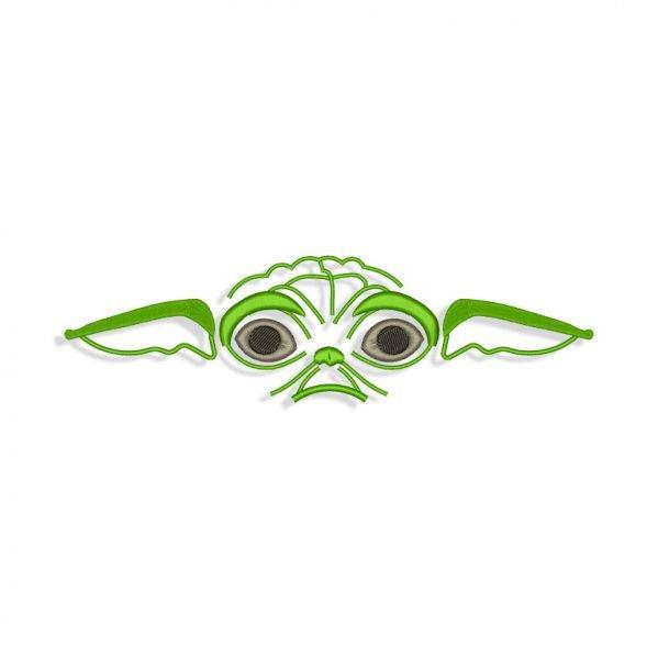 Baby Yoda Embroidery design