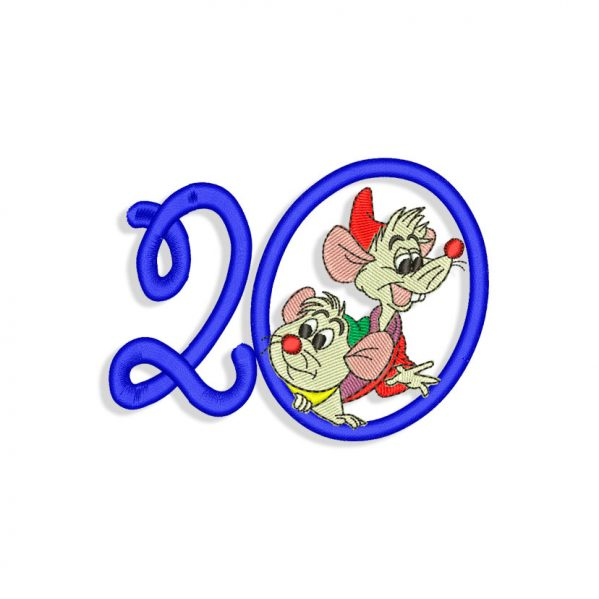 New Year 2020 Embroidery design files