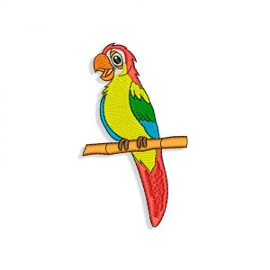 Parrot Embroidery
