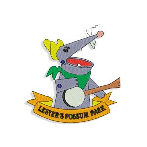Lester's Possum Park Embroidery