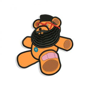 Bearded Bear Embroidery