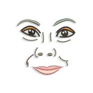 Dolores Umbridge face Embroidery design