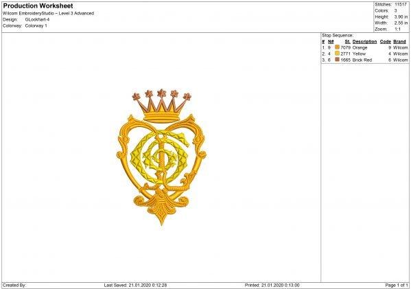 Harry Potter Gilderoy Lockhart logo Embroidery design