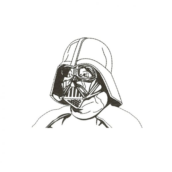 Darth Vader Embroidery design