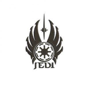 Jedi Logo Embroidery