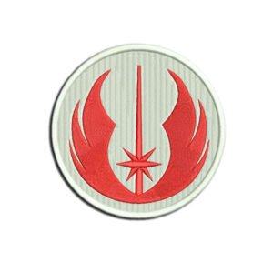 Jedi Academy Logo Embroidery