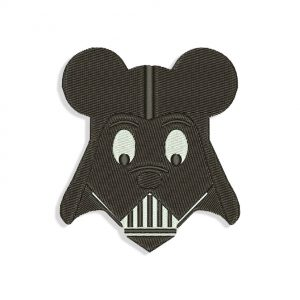 Mickey Mouse Vader Embroidery