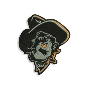 Pistol Pete Embroidery