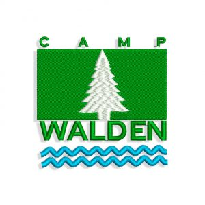 Walden Camp logo Embroidery