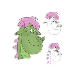 Elliott Pete's Dragon Embroidery design