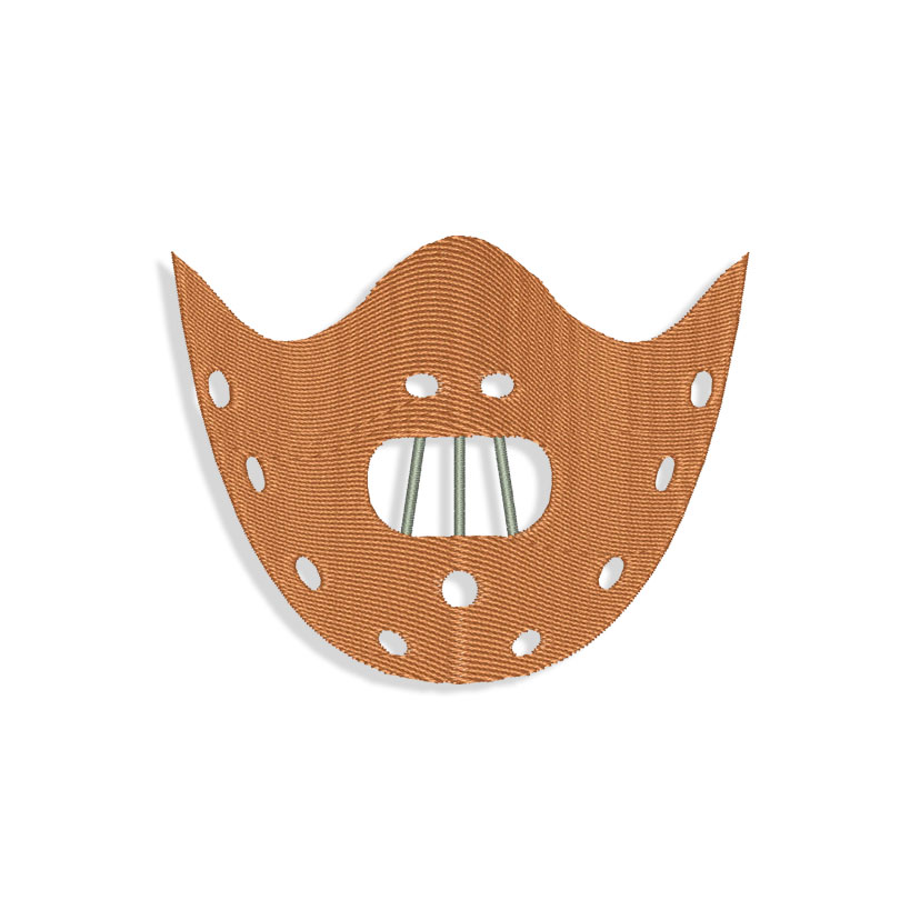 Maniac Mask Machine Embroidery Designs And Svg Files New mask design with vertical pleats and no nose wire required! machine embroidery design files and svg files svges com