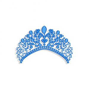 Tiara Embroidery design