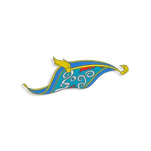 Flying Carpet Embroidery design