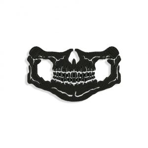 Skull Mouth for Mouth mask Embroidery design