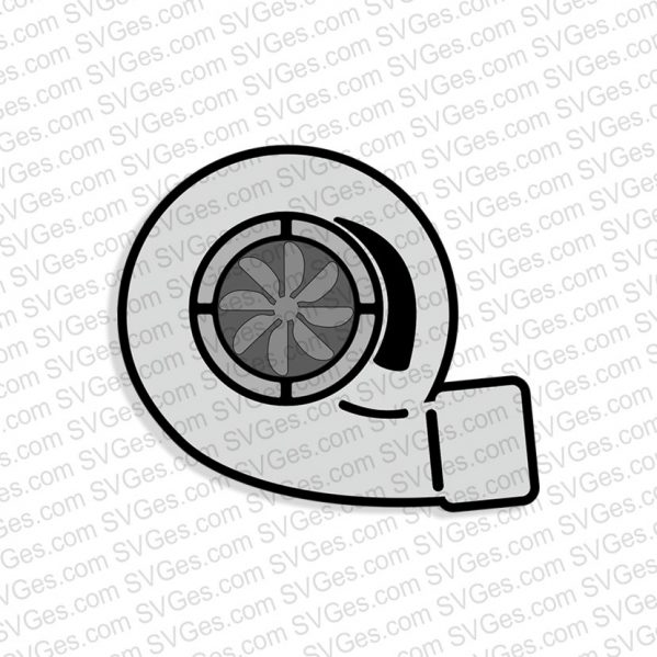 Turbocharger SVG files