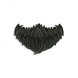 Beard Embroidery design
