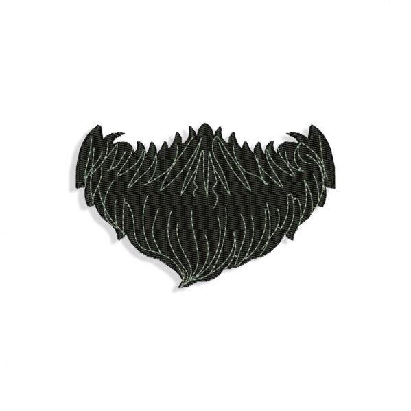 Beard Embroidery design