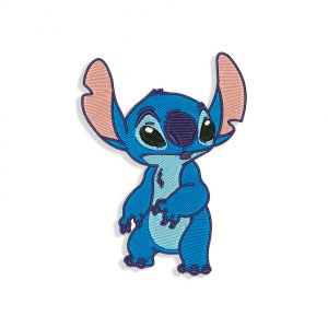 Lilo & Stitch Embroidery design