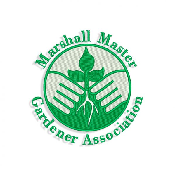 Marshall Masters logo Embroidery design