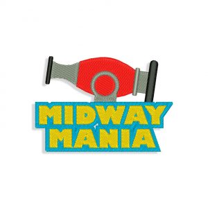 Midway Mania Embroidery design