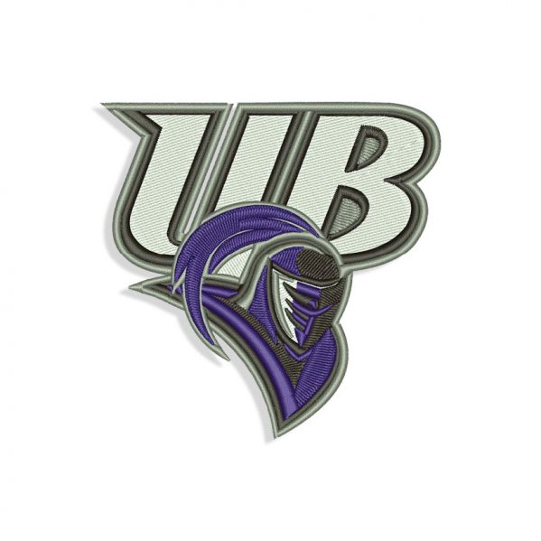 Bridgeport Purple Knights Embroidery design