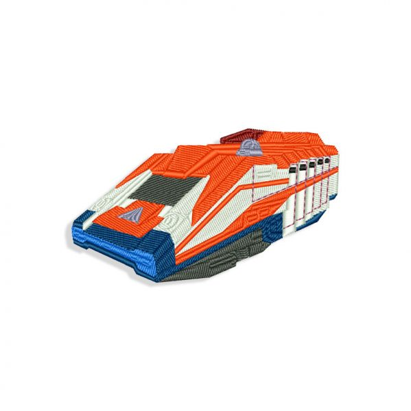 StarSpeeder 1000 Embroidery design