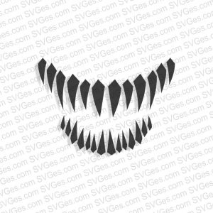 Venom Mouth SVG