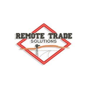 Remote Trade Embroidery design