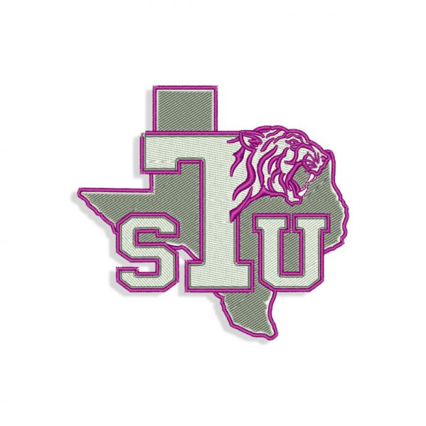 Texas Southern Tigers Embroidery design