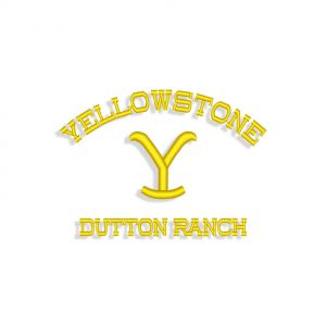 Beth Dutton Yellowstone Embroidery design