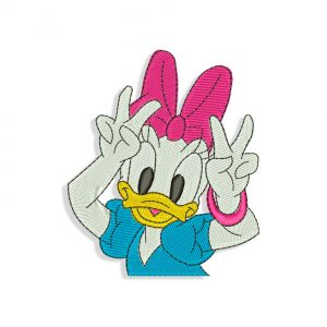 Daisy Duck Embroidery design