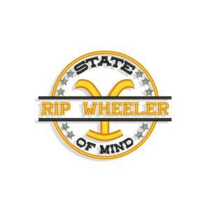 Rip Wheeler Embroidery design
