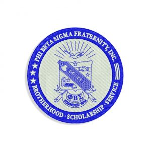 Phi Beta Sigma Fraternity Embroidery design