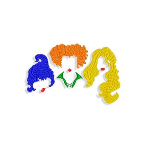 Hocus Pocus Embroidery design
