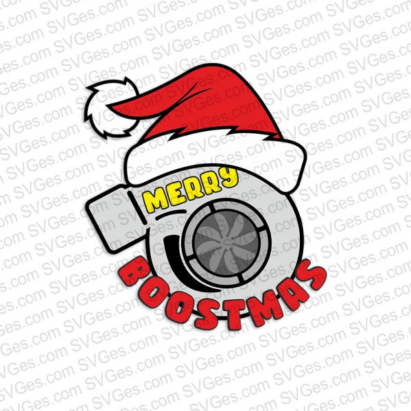 Merry Boostmas SVG files