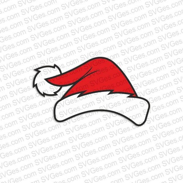 Santa Claus Hat SVG files