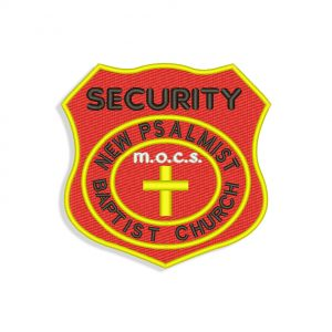 Security Embroidery design