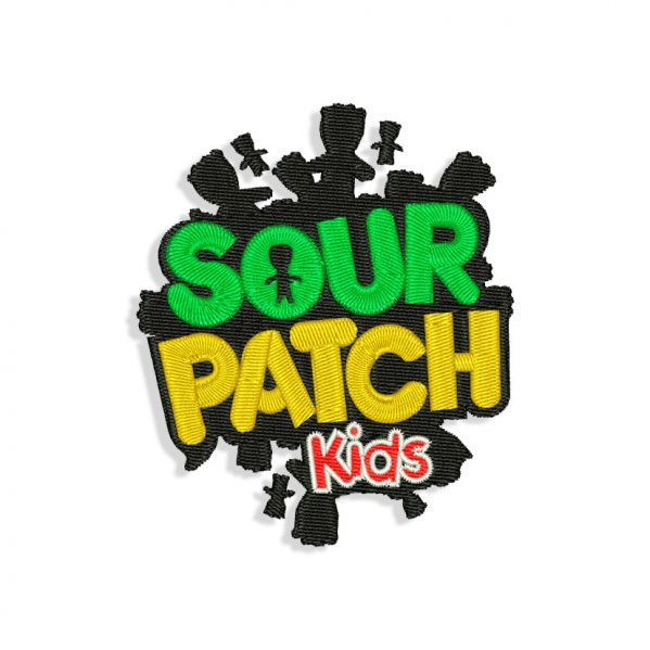 Sour Patch Embroidery design