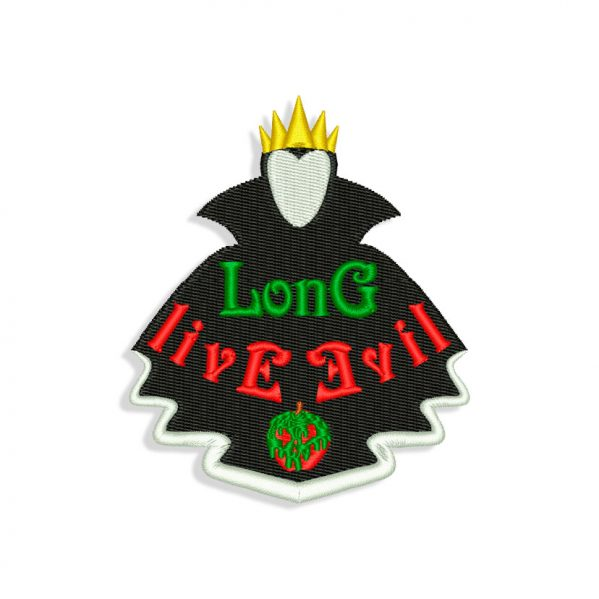 Evil Queen Embroidery design