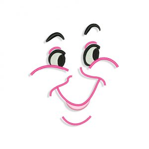 Fairy Godmother Face Embroidery design