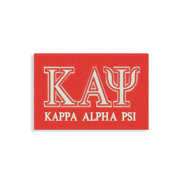 Kappa Alpha Psi Embroidery design