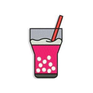 Glass of Soda Embroidery design