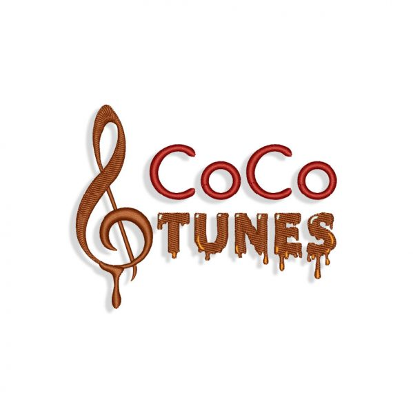 Coco Tunes Embroidery design