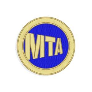 MTA Embroidery design