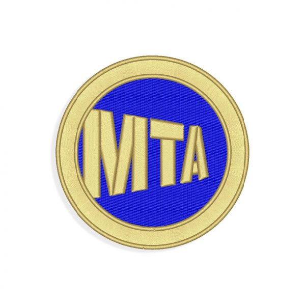 MTA Embroidery design