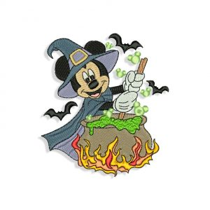 Mickey Mouse Wizard Embroidery design